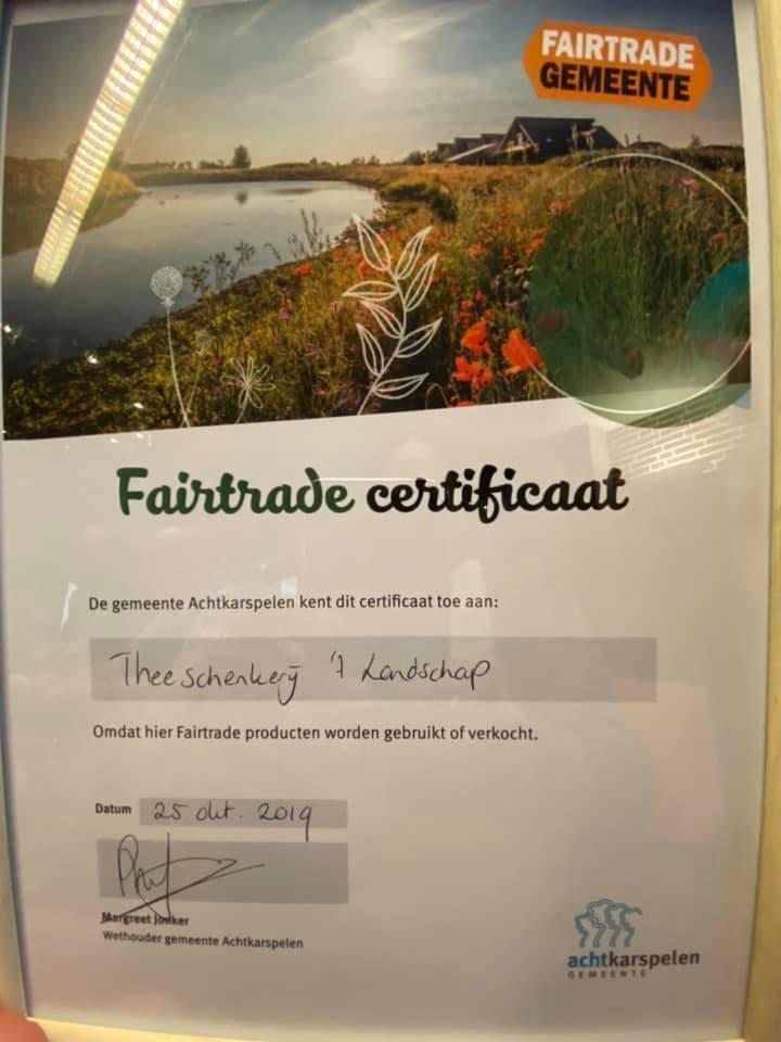 Fairtrade certificaat